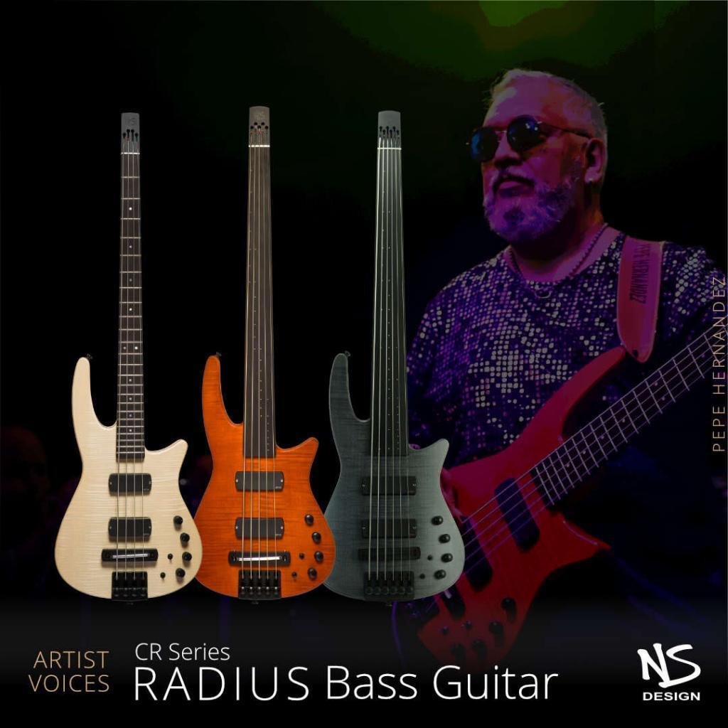 NS Artist Voices CR Radius Bass Guitar